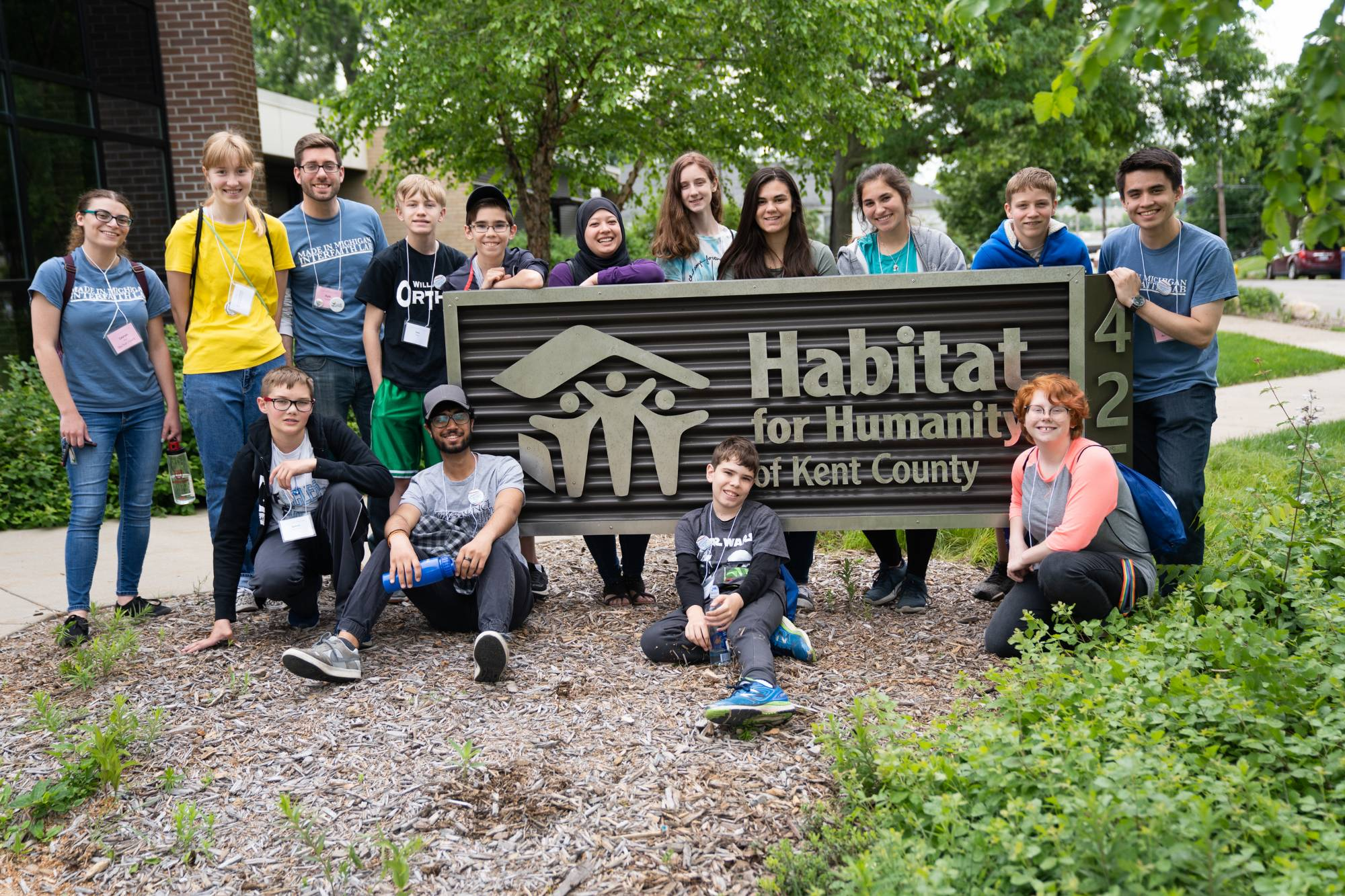 Day Camp at Habitat for Humanity